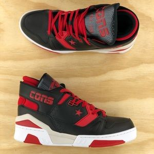 Converse ERX 260 Mid Top Bred Black Red Leather
